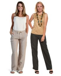 Hemp Drawstring Trousers