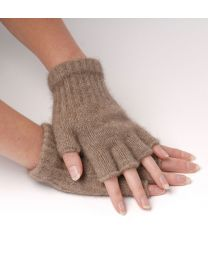 Possum Wool Fingerless Gloves
