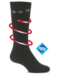 Merino Knee High Compression Flight Socks