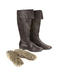 Possum Fur Boot Liners