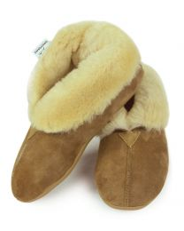 The Lady Sheepskin Slippers
