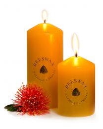 New Zealand Beeswax Candles