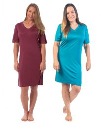 COLOURS TO CLEAR Silk Nightshirt