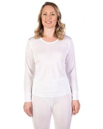 Women's Silk Long Underwear Top